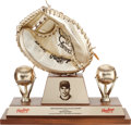 Baseball Collectibles:Others, 2000 Mike Matheny Gold Glove Award....
