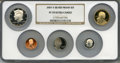 Proof Sets, 2007-S Silver Proof Set PR70 Ultra Cameo NGC. This set includes Lincoln Cent, Monticello Nickel, Roosevelt Dime, Kennedy Hal... (Total: 5 coins)