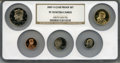Proof Sets, 2007-S Clad Proof Set PR70 Ultra Cameo NGC. This Set Includes: Lincoln Cent, Monticello Nickel, Roosevelt Dime, Kennedy Half... (Total: 5 coins)