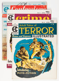 Magazines:Miscellaneous, EC Assorted Magazines Group (EC, 1955-56).... (Total: 4 ComicBooks)