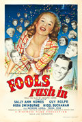"""Movie Posters:Comedy, Fools Rush In (Eagle-Lion, 1949). British One Sheet (27"""" X 40"""")....."""
