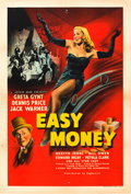 "Movie Posters:Comedy, Easy Money (Eagle-Lion, 1948). British One Sheet (27"" X 40"").. ..."