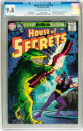 Silver Age (1956-1969):Horror, House of Secrets #73 (DC, 7-8/) CGC NM 9.4 Cream to off-whitepages....