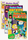 Bronze Age (1970-1979):Cartoon Character, Richie Rich Profits #1-47 File Copy Short Box Group (Harvey, 1977-82) Condition: Average NM-....