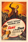 """Movie Posters:Foreign, Fame is the Spur (Eagle-Lion, 1947). British One Sheet (27"""" X 40"""").. ..."""