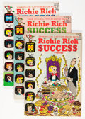 Silver Age (1956-1969):Humor, Richie Rich Success Stories File Copy Short Box Group (Harvey, 1965-72) Condition: Averages VF/NM....