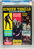 Magazines:Vintage, Screen Thrills Illustrated #7 (Warren, 1964) CGC NM 9.4 Cream to off-white pages....