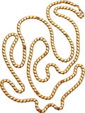 Estate Jewelry:Necklaces, Victorian Gold Longchain. ...