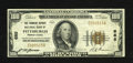National Bank Notes:Pennsylvania, Pittsburgh, PA - $100 1929 Ty. 1 The Farmers Deposit NB Ch. # 685. Lower serial number embossing is observed on this C-n...