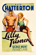 """Movie Posters:Drama, Lilly Turner (Warner Brothers, 1933). One Sheet (27"""" X 41"""").. ..."""