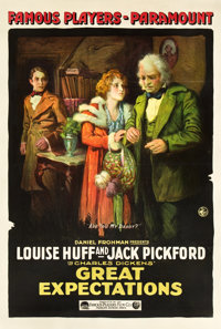 """Great Expectations (Paramount, 1917). One Sheet (27"""" X 41"""")"""