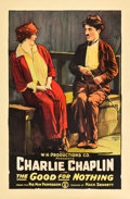 """Movie Posters:Comedy, Good for Nothing (W. H. Productions, R-1918). One Sheet (27"""" X 41"""").. ..."""