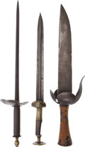 Edged Weapons:Knives, Lot of 3 Edged Weapons.... (Total: 3 Items)