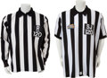 Football Collectibles:Uniforms, 1989 and 1999 Gary Lane Game Worn Super Bowl Referee Jerseys and Super Bowl XXIII Ring....