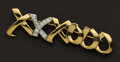 Estate Jewelry:Brooches - Pins, Charming 'XX's & OO's Tiffany & Co. 18k Gold Pin. ...