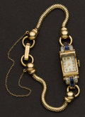 Timepieces:Wristwatch, Tiffany & Co. 14k Gold 17 Jewel Ladies Wristwatch. ...