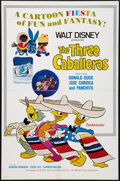 "Movie Posters:Animated, The Three Caballeros (Buena Vista, R-1977). One Sheet (27"" X 41""). Animated.. ..."