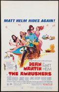 "Movie Posters:Action, The Ambushers (Columbia, 1967). Window Card (14"" X 22""). Action.. ..."