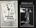 "Movie Posters:Bad Girl, Bad Girls Pressbook Lot (Various Publishers, 1950s-1980s). UncutPressbooks (6) (Multiple Pages, 11"" X 17"" & 12"" X 17""). Bad...(Total: 6 Items)"