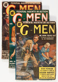 Pulps:Detective, G-Men Group (Better Publications, 1939-51) Condition: Average VG-.... (Total: 6 Items)