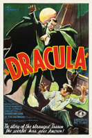 """Featured item image of Dracula (Universal, 1931). One Sheet (27"""" X 41"""") Style F.  ..."""
