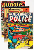 Golden Age (1938-1955):Miscellaneous, Comic Books - Assorted Golden Age Comics Group (Various Publishers, 1939-54) Condition: Average VG.... (Total: 9 Comic Books)