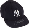 Baseball Collectibles:Uniforms, 2006 Derek Jeter Game Worn New York Yankees Cap....