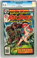Bronze Age (1970-1979):Adventure, Marvel Feature #5 Red Sonja (Marvel, 1976) CGC NM+ 9.6 White pages....
