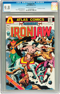 Barbarians #1 (Atlas-Seaboard, 1975) CGC NM/MT 9.8 Off-white to white pages