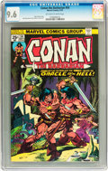 Bronze Age (1970-1979):Adventure, Conan the Barbarian #54 (Marvel, 1975) CGC NM+ 9.6 Off-white to white pages....