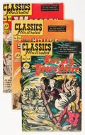 Silver Age (1956-1969):Classics Illustrated, Classics Illustrated Group (Gilberton, 1940s-'50s) Condition:Average VG.... (Total: 31 Comic Books)