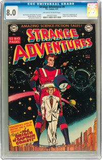 Strange Adventures #9 (DC, 1951) CGC VF 8.0 Off-white to white pages