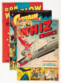 Golden Age (1938-1955):Miscellaneous, Fawcett Group (Fawcett, 1950s) Condition: Average VG/FN.... (Total: 4 Comic Books)
