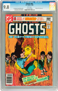 Modern Age (1980-Present):Horror, Ghosts #93 (DC, 1980) CGC NM/MT 9.8 White pages....