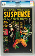 Golden Age (1938-1955):Horror, Suspense #28 (Atlas, 1953) CGC FN 6.0 Off-white to white pages....