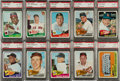 Baseball Cards:Lots, 1965 Topps Baseball PSA Graded Collection (10) - Mostly HoFers. ...