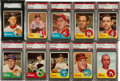 Baseball Cards:Lots, 1963 Topps Baseball Graded Collection (26)....