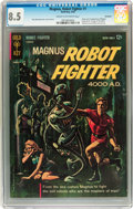 Silver Age (1956-1969):Science Fiction, Magnus Robot Fighter #1 Savannah pedigree (Gold Key, 1963) CGC VF+ 8.5 Cream to off-white pages....