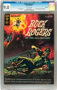Buck Rogers #1 Savannah pedigree (Gold Key, 1964) CGC VF/NM 9.0 Off-white pages