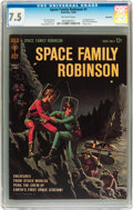 Silver Age (1956-1969):Science Fiction, Space Family Robinson #1 Savannah pedigree (Gold Key, 1962) CGC VF- 7.5 Off-white pages....