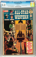 Bronze Age (1970-1979):Western, All-Star Western #10 (DC, 1972) CGC VF 8.0 White pages....