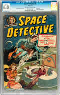Golden Age (1938-1955):Science Fiction, Space Detective #1 (Avon, 1951) CGC FN 6.0 Off-white to whitepages....