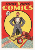 Golden Age (1938-1955):Funny Animal, Three Ring Comics #1 (Spotlight, 1945) Condition: FN-....