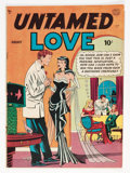 Golden Age (1938-1955):Romance, Untamed Love #1 (Quality, 1950) Condition: VG+....
