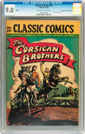 Golden Age (1938-1955):Adventure, Classic Comics #20 The Corsican Brothers HRN 28 Mile High pedigree (Gilberton, 1946) CGC VF/NM 9.0 Off-white to white pages....