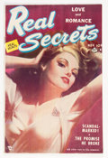 Golden Age (1938-1955):Romance, Real Secrets #2 (#1) (Ace Periodicals, 1950) Condition: VG....