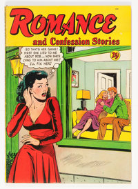 Romance and Confession Stories #1 (St. John, 1949) Condition: FN-
