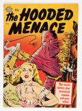 Golden Age (1938-1955):Horror, Hooded Menace #1 (Realistic Comics, 1951) Condition: VG-....
