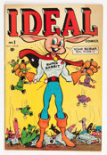 Golden Age (1938-1955):Funny Animal, Ideal Comics #1 (Timely, 1944) Condition: FN-....
