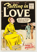 Golden Age (1938-1955):Romance, Falling in Love #1 (DC, 1955) Condition: VG/FN....